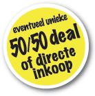 Eventueel unieke 50/50 deal